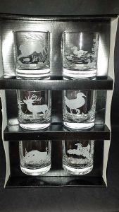 verre whisky chasse verre aperitif animaux coffret verre chasse. Black Bedroom Furniture Sets. Home Design Ideas