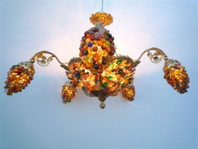 lustre en verre lustre de salon lustre cristal art deco. Black Bedroom Furniture Sets. Home Design Ideas