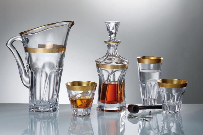 coffret whisky cristal apollo or service whisky appolo gold coffret whisky appolo gold or. Black Bedroom Furniture Sets. Home Design Ideas
