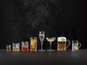 Duo Coupe Cocktail Champagne en cristal collection Noblesse