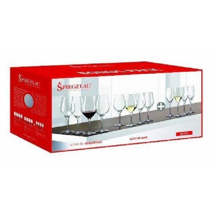 Coffret Cadeau 12 verres en cristallin collection Authentis