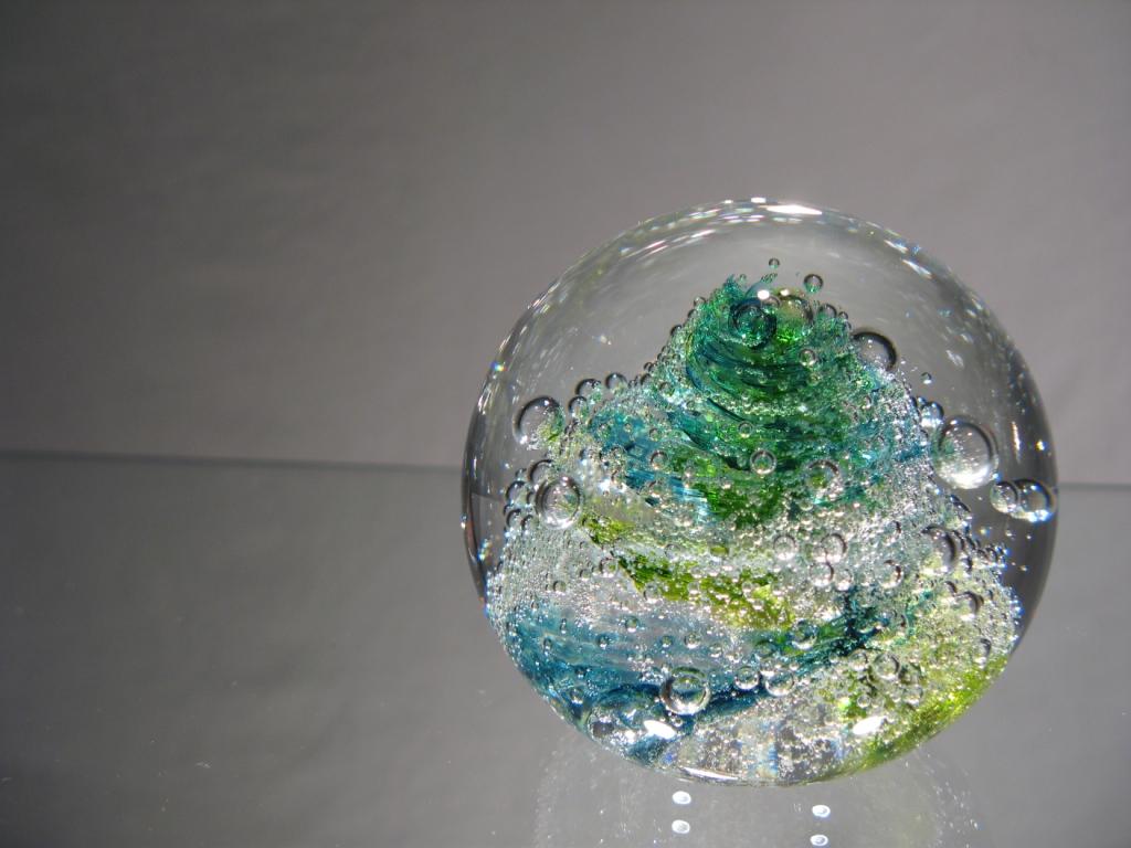 Préférence sulfure - presse papier en cristal - sulfure murano - murano glasses BK11