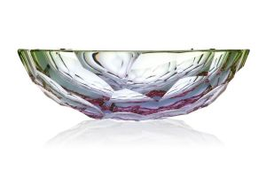 Coupe Cristal Moser Stones reseda et alexandrite