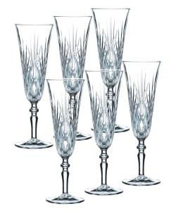 Verres en cristal collection Palais coffret de 6.