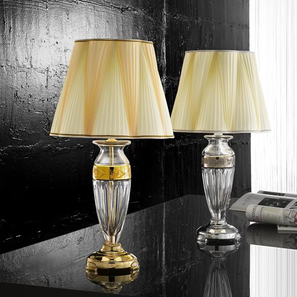 lampe possoni cristal luxe lampe villa chalet cristal. Black Bedroom Furniture Sets. Home Design Ideas