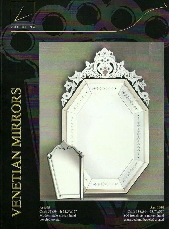 Voltolina miroirs v nitiens murano voltolina miroirs for Miroir venitien