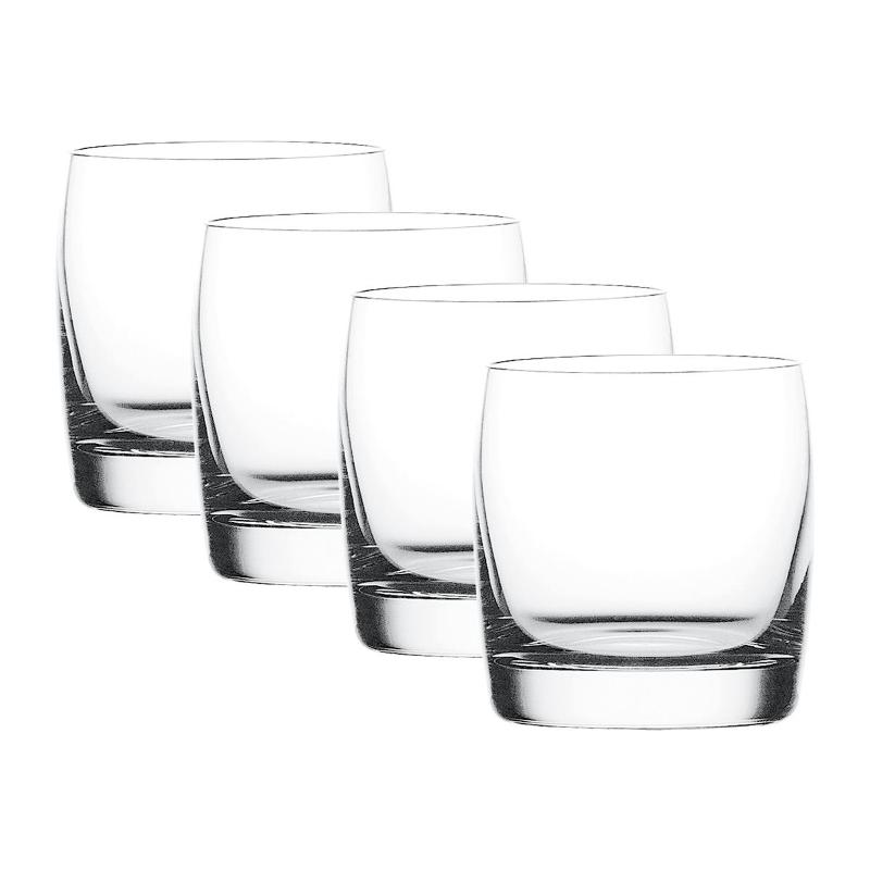 Coffret 4 Verres whisky en cristallin collection Vivendi