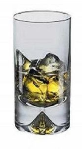 Coffret 6 Verres long drink en cristal collection Mont-Blanc 30cl