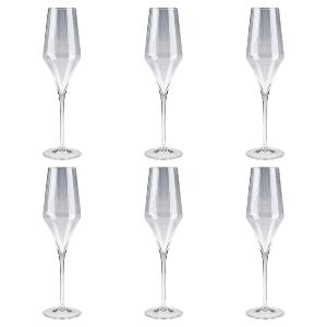 Flutes Champagne collection Oenologie Cristal de Paris
