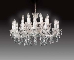 Lustre Chandelier Murano Voltolina Collection Vienna Plus