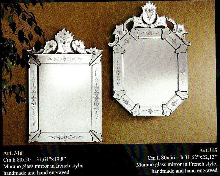 Voltolina miroirs v nitiens murano voltolina miroirs for Miroir francais