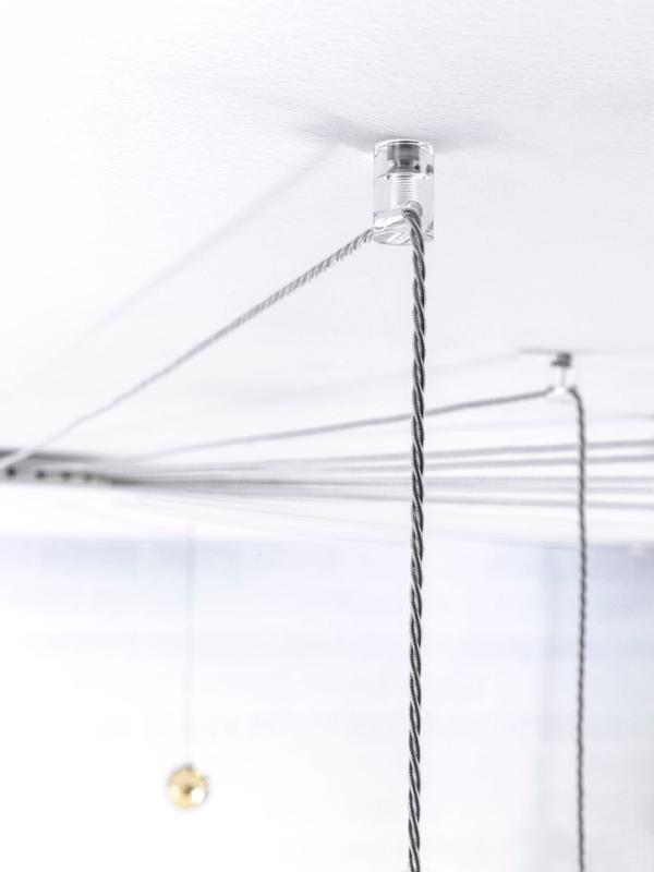suspension spider cable luminaire studio italia suspension spider cable arraignee. Black Bedroom Furniture Sets. Home Design Ideas