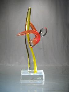 Murano Art Collection : Danseur Ballerine