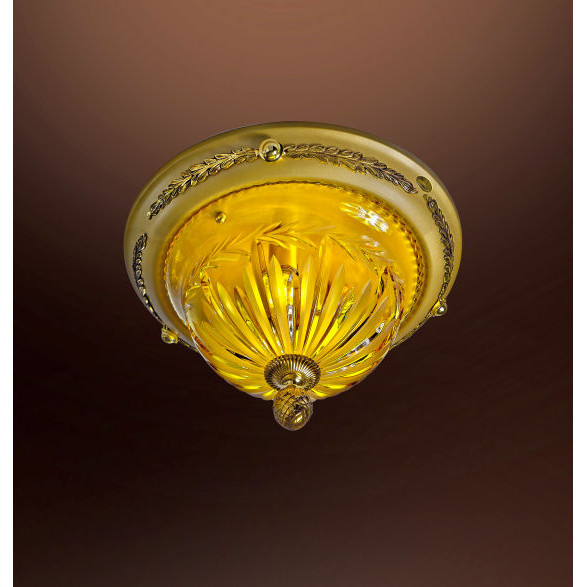 Collection Lustre Cristal Ambre luxe 430 Possoni