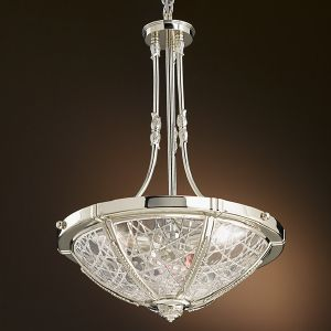 Lustre Chandelier simple Cristal taille Possoni