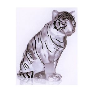 Tigre assis Lalique