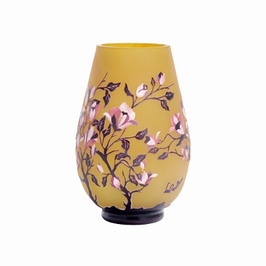 lampe la rochere lampe en pate de verre lampe magnolia. Black Bedroom Furniture Sets. Home Design Ideas