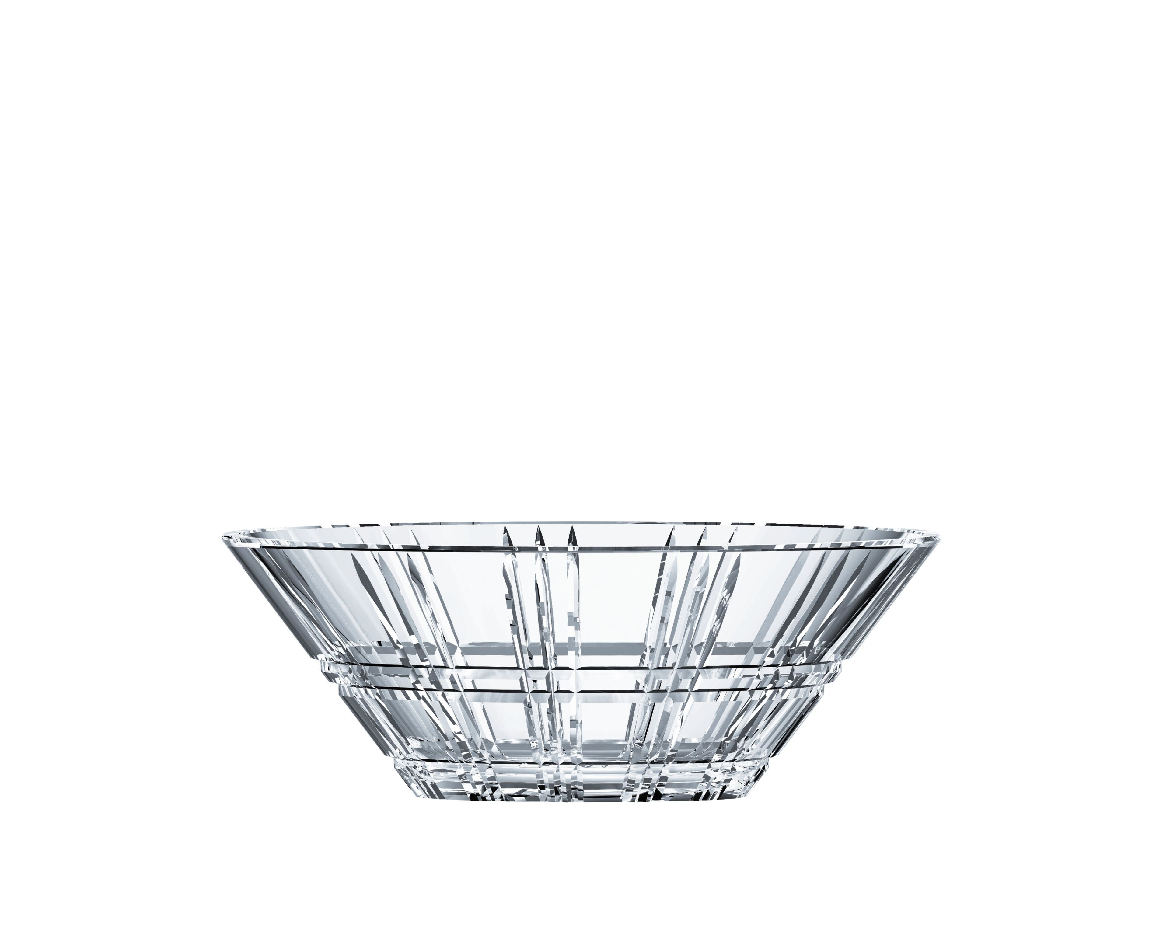 Coupe en cristal collection Square  27 cm