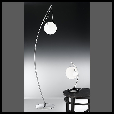 Luminaire Contemporain Verre Boule - Luminaire Murano blanc boule ...