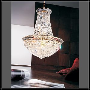Lustre Mongolfiere Cristal Murano Voltolina Collection New Orleans