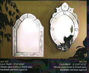 miroir venitien ovale rectangulaire cristal art deco miroir venise mirroir venitien ovale. Black Bedroom Furniture Sets. Home Design Ideas