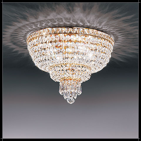 Plafonnier Cristal Murano Voltolina Collection Beethoven
