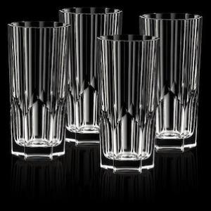 Verres long drink en cristal collection Aspen