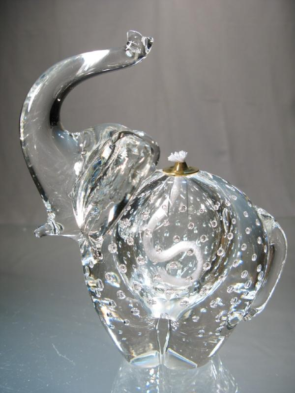 Elephant lampe a huile elephant verre murano original lampe a huile l ph - Acheter tente bulle transparente ...