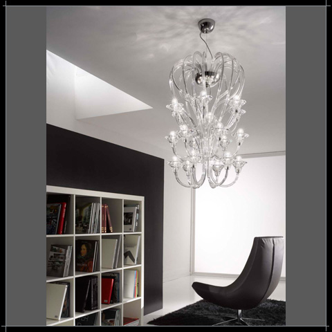 grand lustre voltolina chandelier venise lustre voltolina chandelier murano. Black Bedroom Furniture Sets. Home Design Ideas