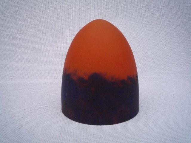 abat jour lampe abat jour pate de verre cone 16 cm pate de verre. Black Bedroom Furniture Sets. Home Design Ideas