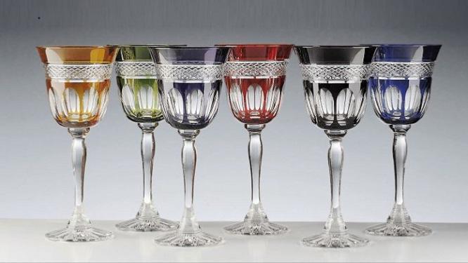 verre vin mireille verres cristal du rhin verre couleur mireille. Black Bedroom Furniture Sets. Home Design Ideas