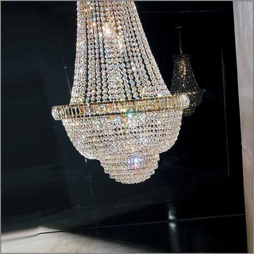 Lustre Mongolfiere Cristal Murano Voltolina Collection Roma