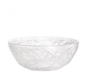 Coupe Lalique Cristal decor Pinsons