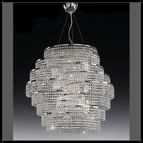 Lustre moderne cristal voltolina cristal art deco for Les lustres modernes