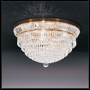 Plafonnier ou Suspension Cristal Murano Voltolina Collection New Orleans