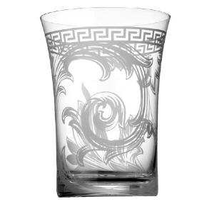Collection Verres Versace modèle Arabesque
