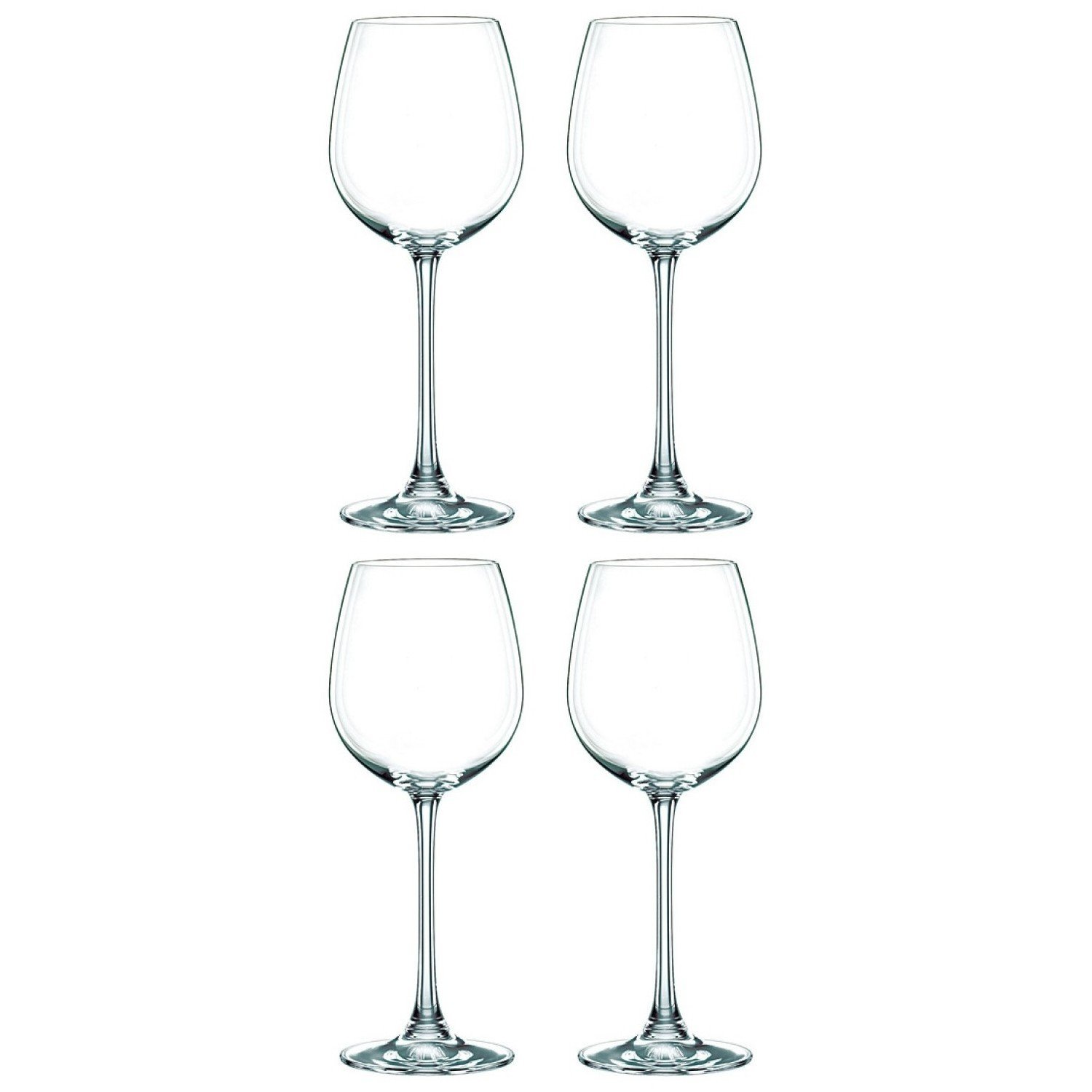 Coffret 4 Verres à vin blanc en cristallin collection Vivendi