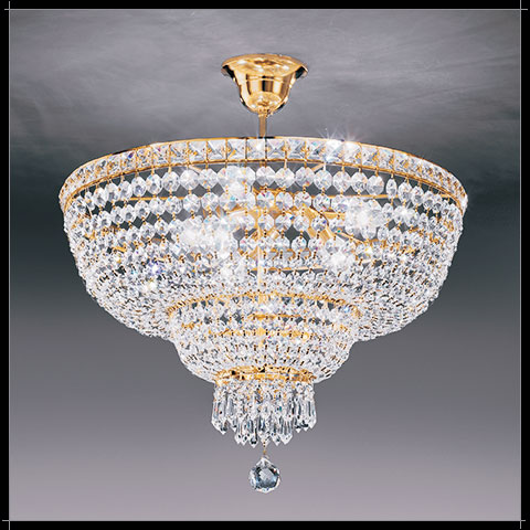 Suspension Cristal Murano Voltolina Collection Beethoven