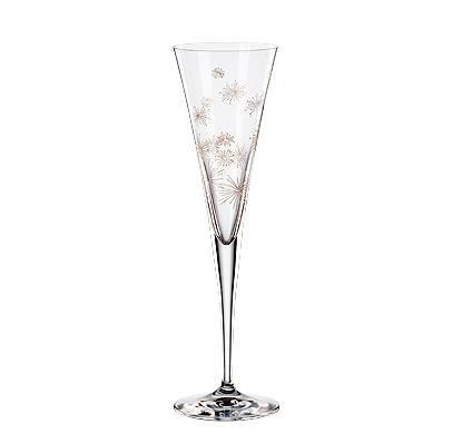 Fl tes champagne en cristal fl tes en cristal fl tes golden moments - Flutes a champagne originales ...