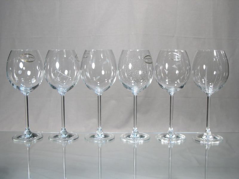 Verre A Vin Moderne verres vin graver - verre decor festival moderne - verre decor pois
