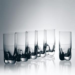 Coffret 6 Verres long drink en cristal collection Kent Virgo