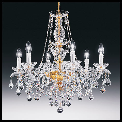 Lustre Chandelier Cristal Murano Voltolina Collection Temptation