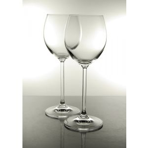Coffret 6 Verres à vin blanc en cristal collection Venise 25 cl