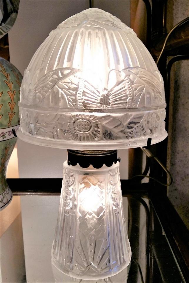 Lampes Tip Galle Lampes En Pate De Verre Vase Tip Galle