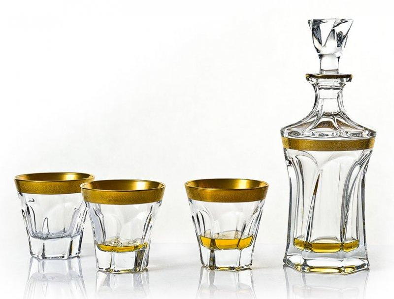 coffret whisky cristal apollo or service whisky appolo. Black Bedroom Furniture Sets. Home Design Ideas