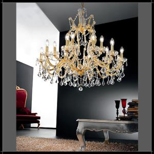 Lustre Chandelier Cristal Murano Voltolina Collection Innsbruck