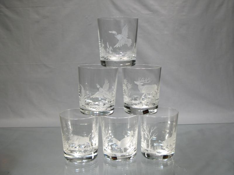 verres en cristal chasse verres chasseur en cristal verres whisky. Black Bedroom Furniture Sets. Home Design Ideas