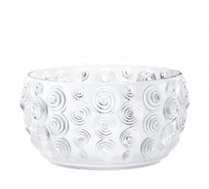 Coupe Lalique Cristal decor Spirales