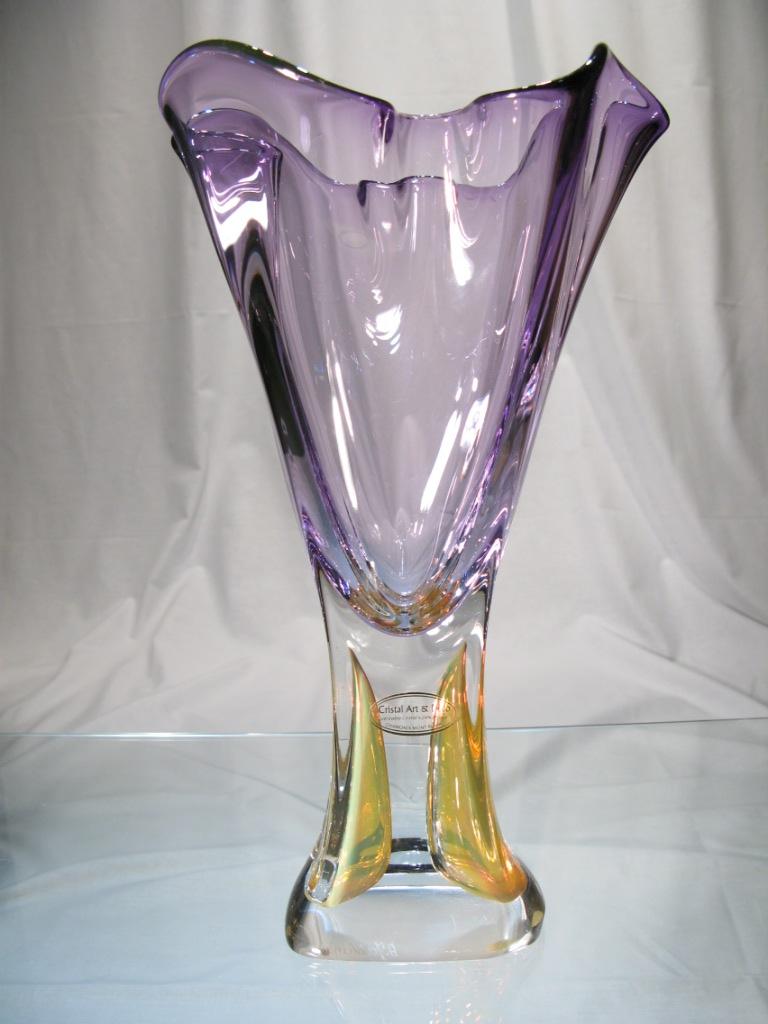 Vase cristal jablonski violet vase artiste jablonski original vase cristal jablonski violet vase artiste jablonski original vase violet cristal floridaeventfo Image collections