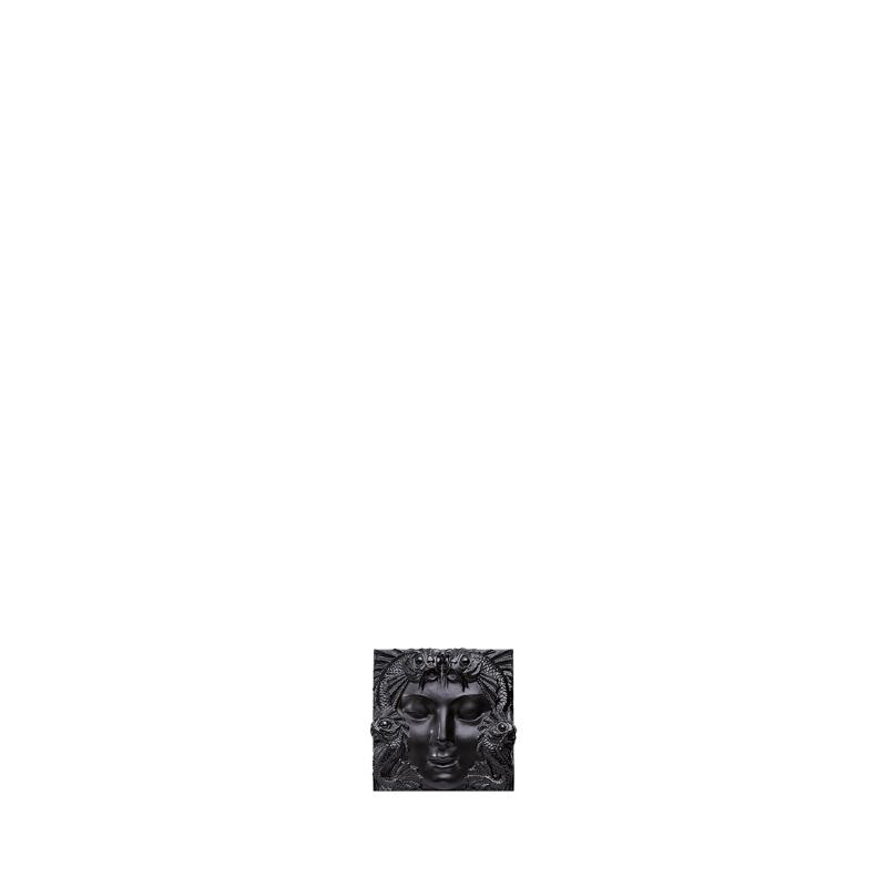 panneau decoratif masque de femme cristal lalique. Black Bedroom Furniture Sets. Home Design Ideas